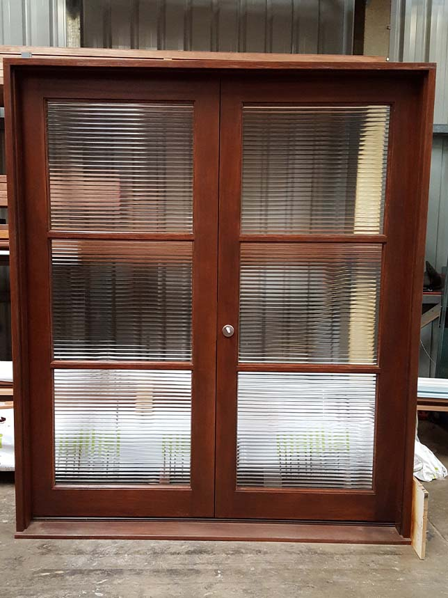 French timber doors double doors beachwood doors joinery for Timber french doors