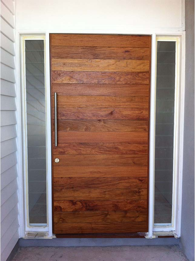 Solid timber front and entry doors beachwood doors for Solid entrance doors