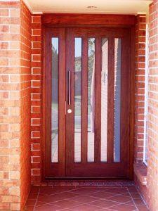 Timber Front Door Options